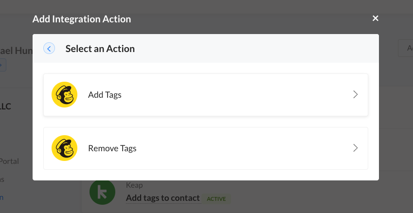 mailchimp-integration-actions-spiffy